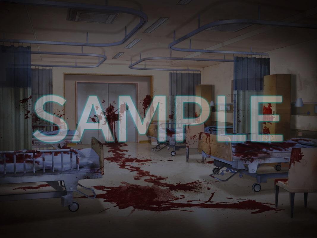 みにくる背景CG素材集『病院編』part01ホラー編 [背景専門店みにくる]
