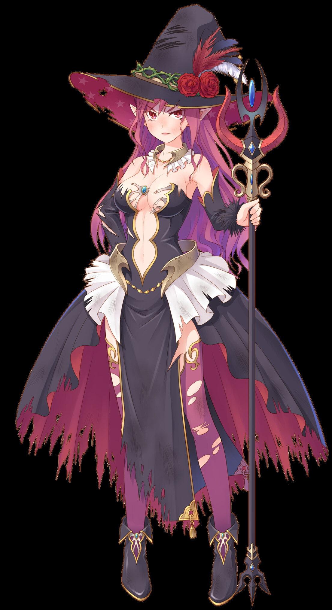 エルフ魔女 [sarashi]
