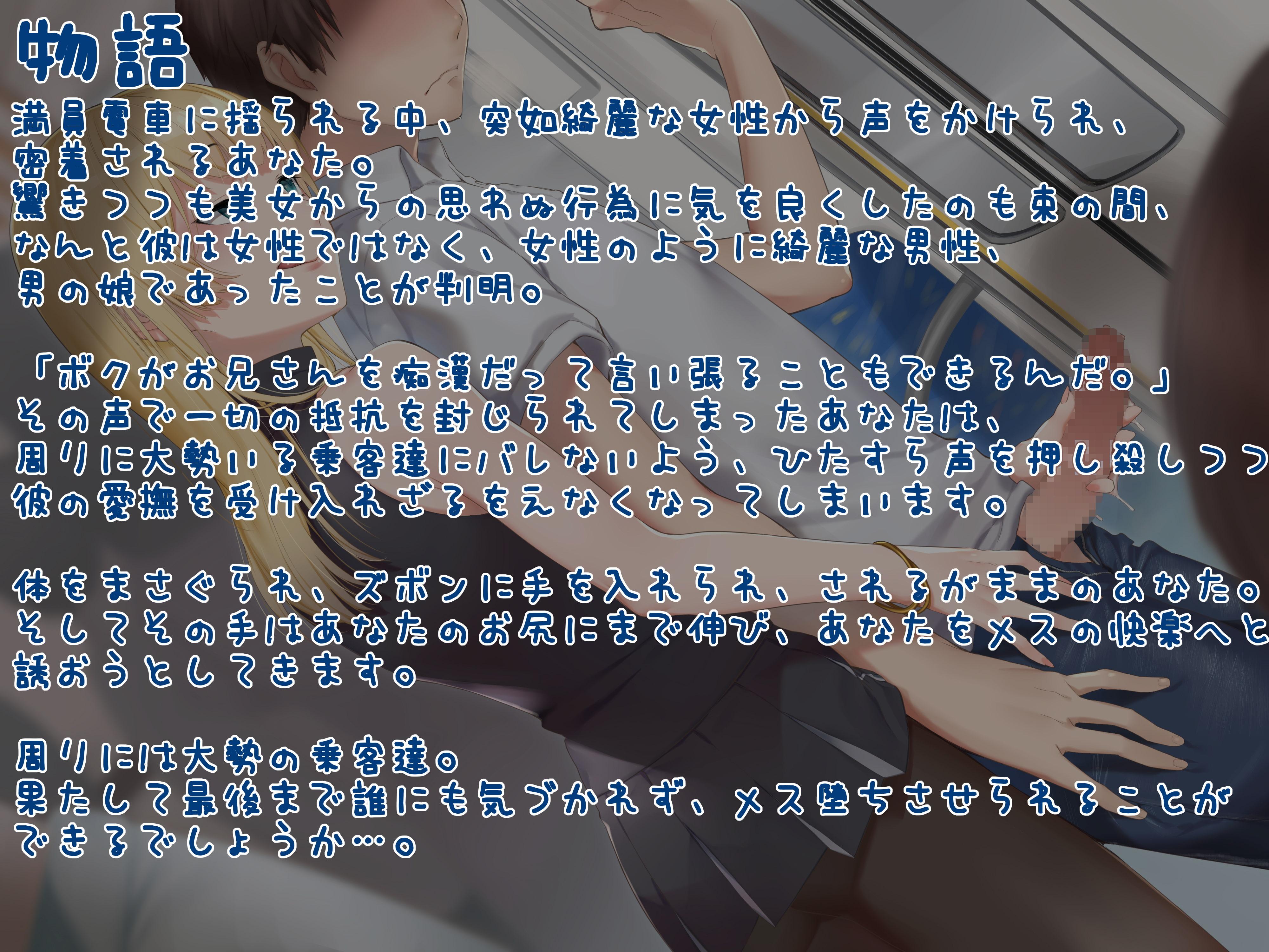 バリタチ男の娘のメス穴開発逆痴漢 〜バレずにメス堕ちできるかな?〜 [狐屋本舗]
