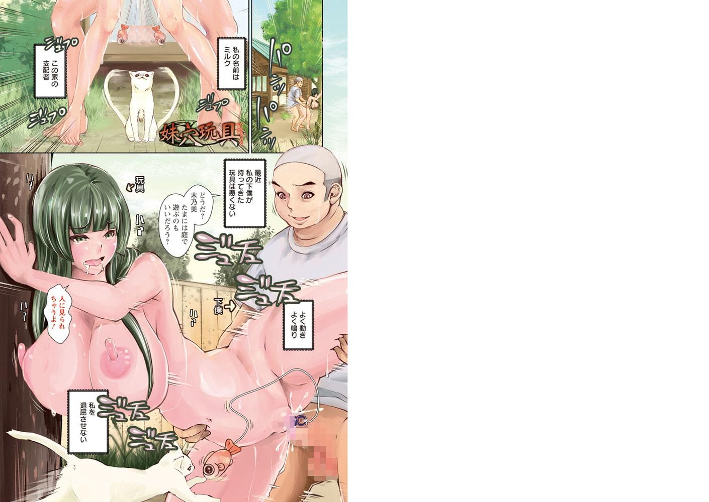 マゾ穴折檻 躾けられた女たちのサンプル画像1