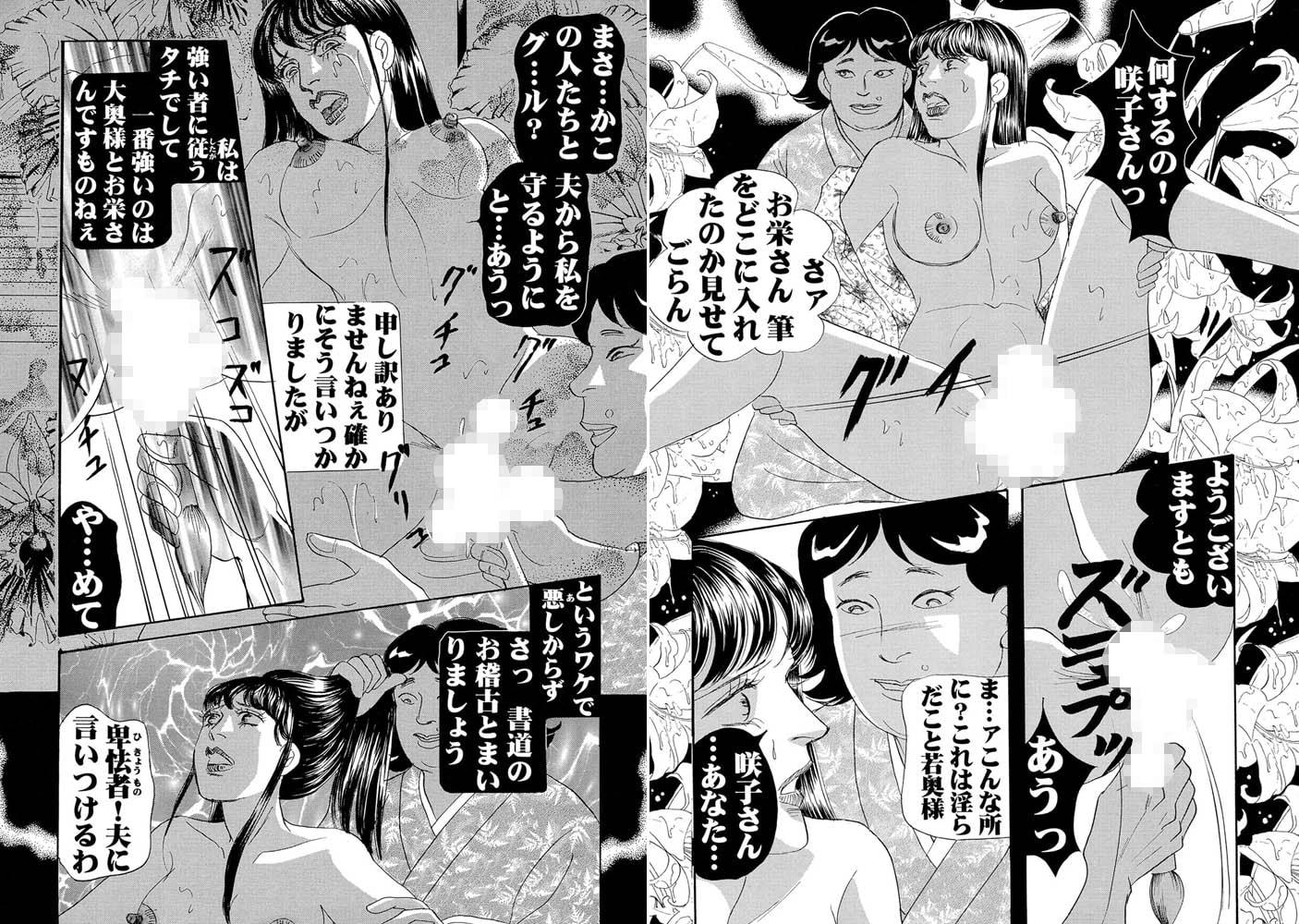 三角木馬 花嫁いじめ花弁なぶり(改訂版)10巻