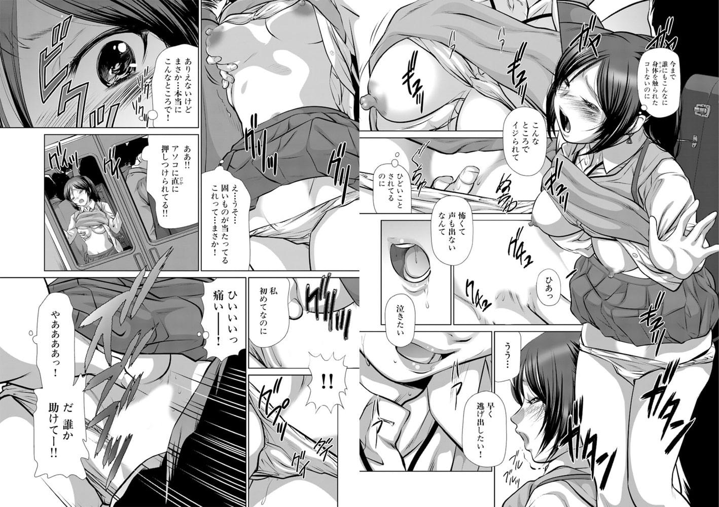 お願い、誰か助けて!! ~処女を痴漢に奪われる女学生~ 1巻