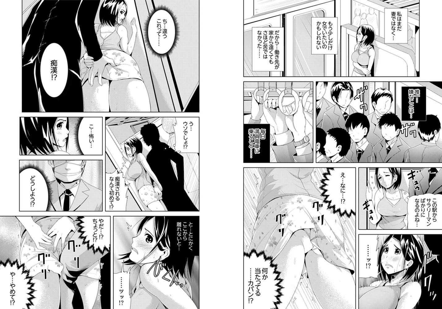 イキすぎ人妻痴漢電車~快楽に堕ちたカラダ【完全版】
