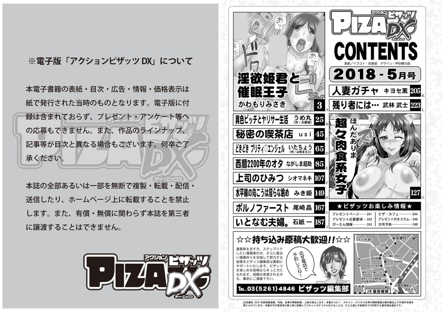 アクションピザッツDX2018年5月号[雑誌]