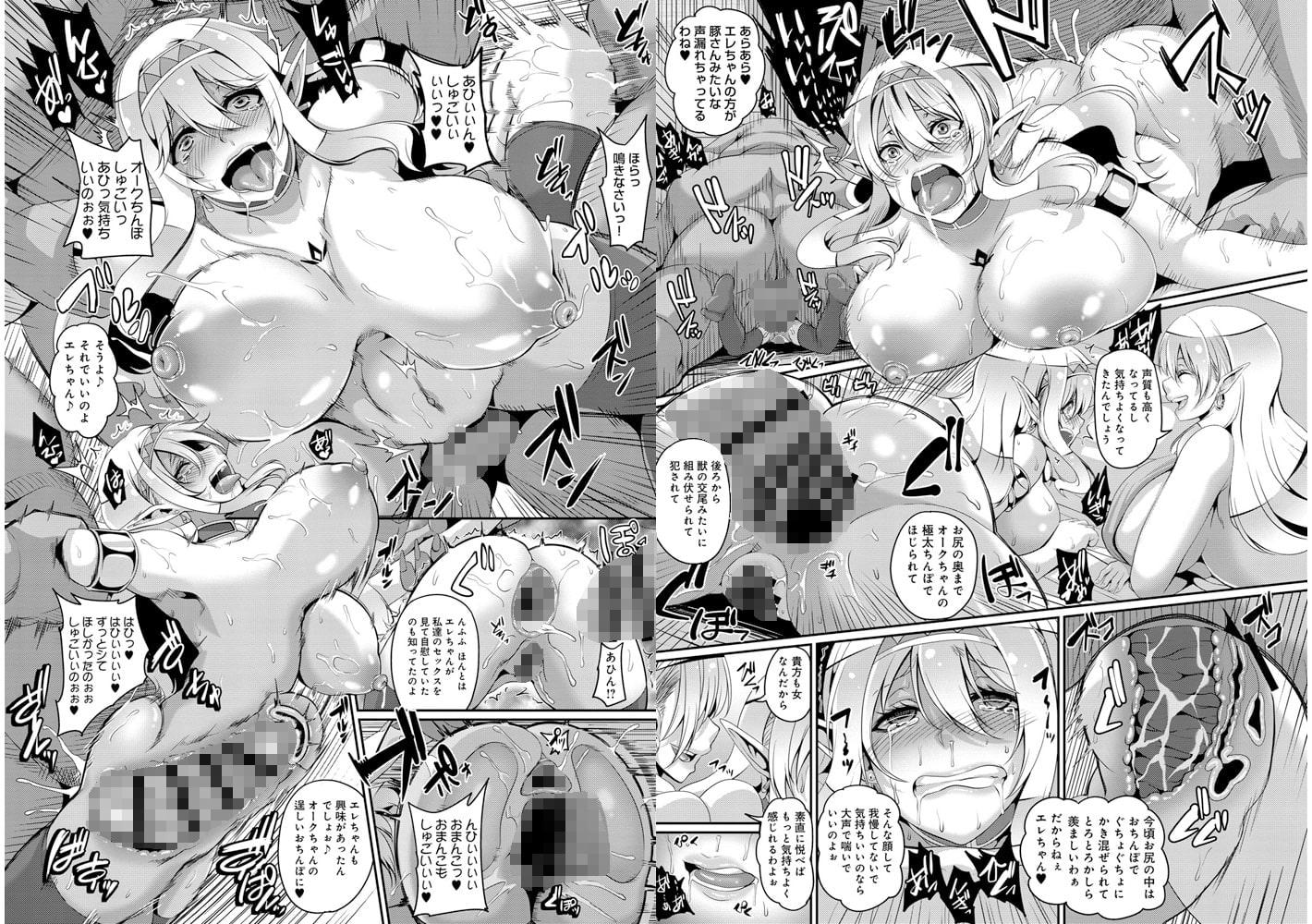 愛嬢の淫辱エルフ【DLsite限定特典付き】のサンプル画像2