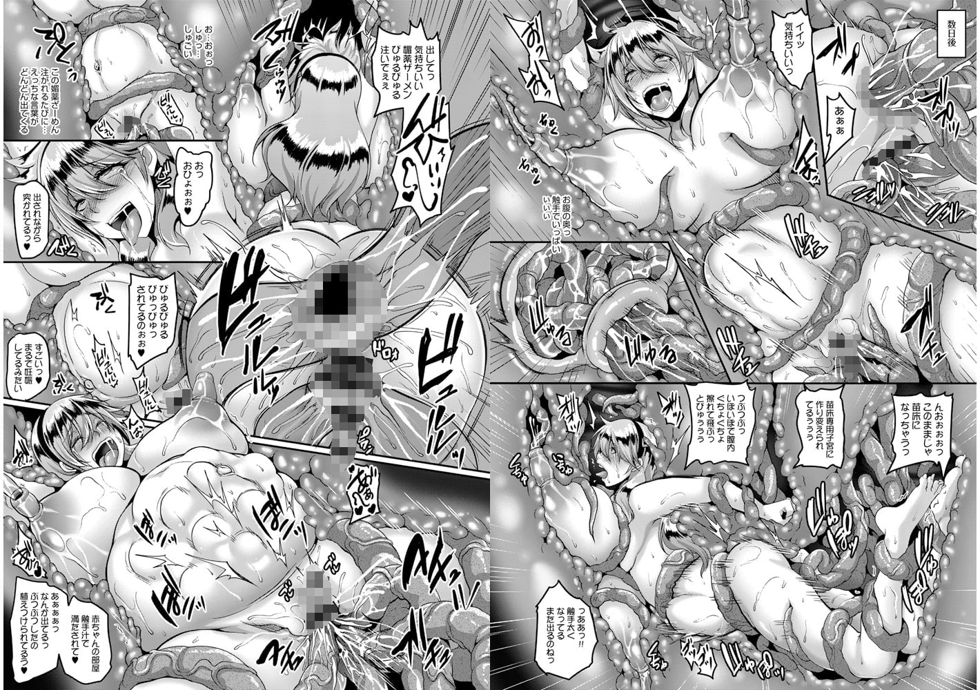 愛嬢の淫辱エルフ【DLsite限定特典付き】のサンプル画像3