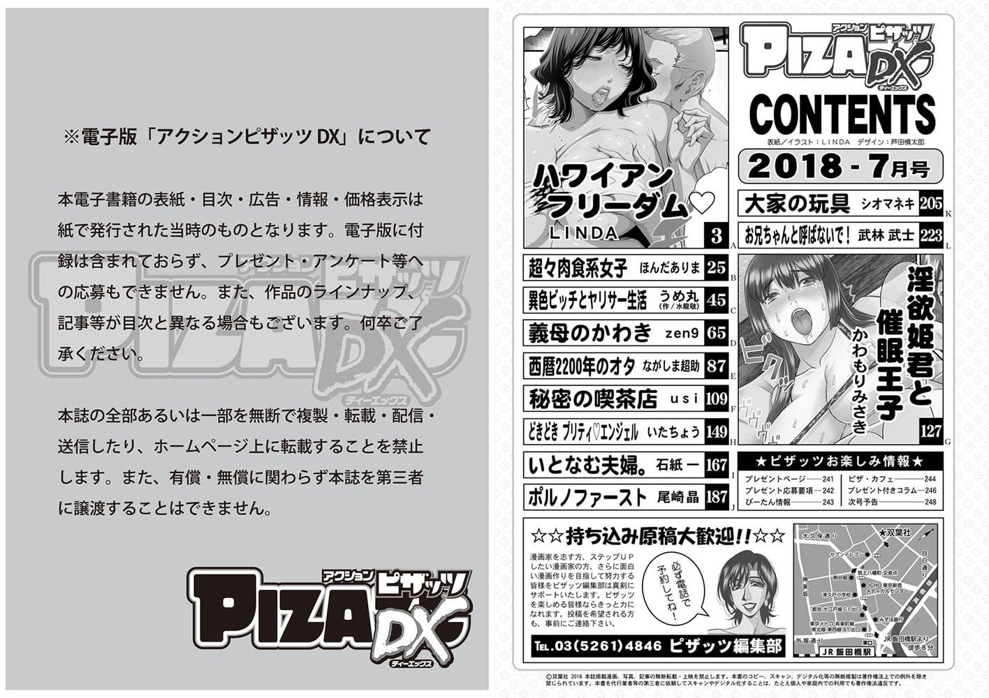 アクションピザッツDX2018年7月号[雑誌]
