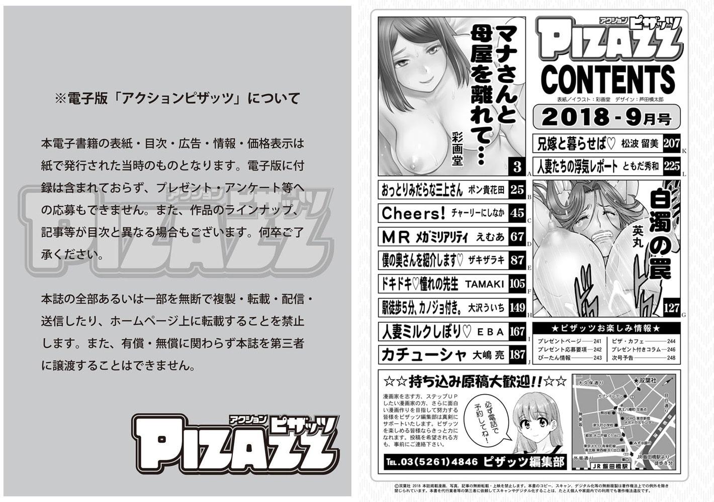 アクションピザッツ2018年9月号[雑誌]