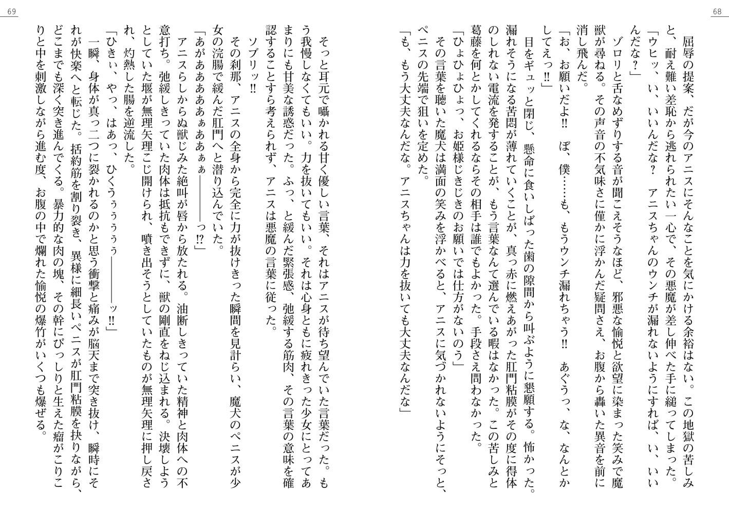 魔法のプリンセス アニス 聖姫獣○