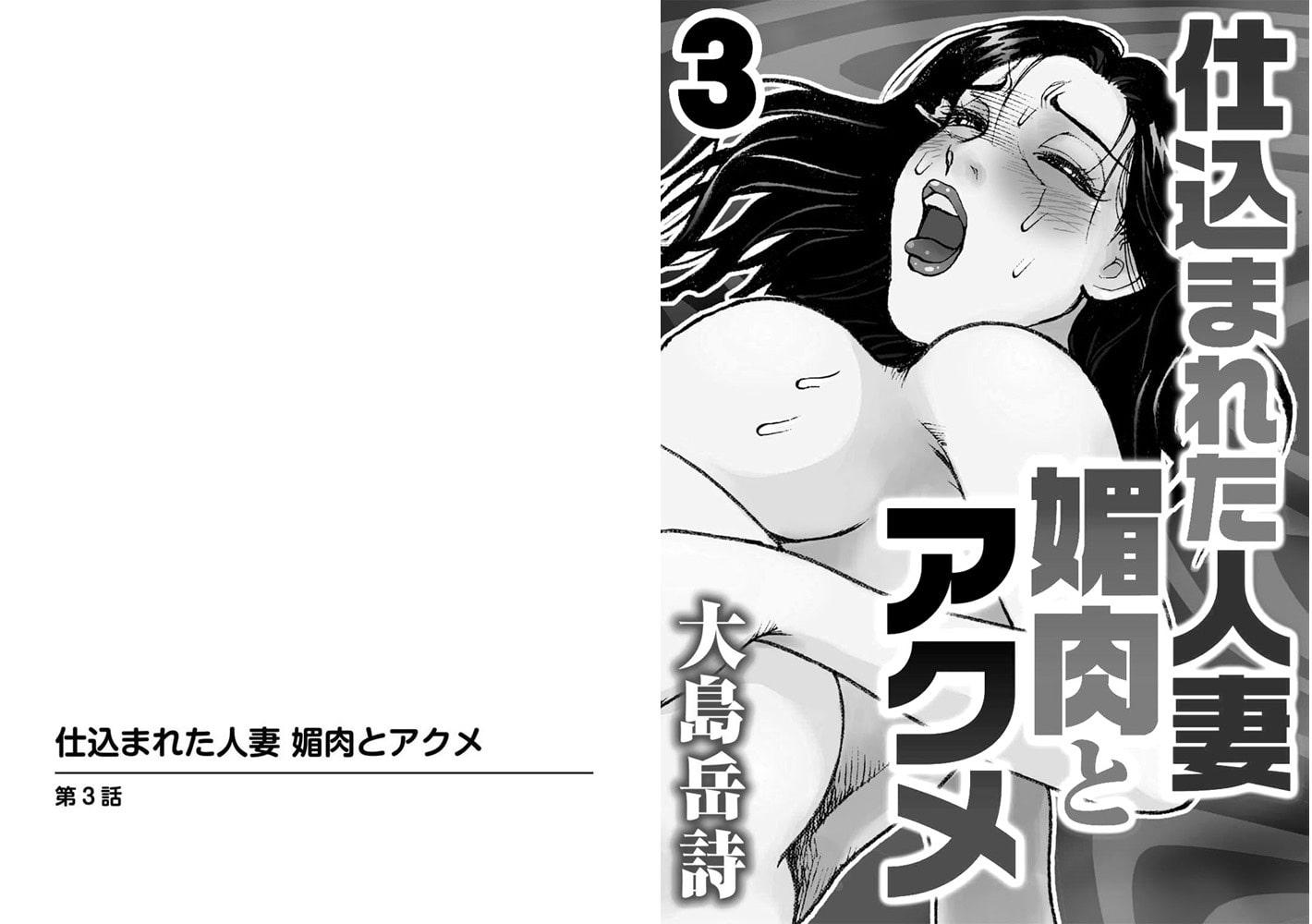 仕込まれた人妻 媚肉とアクメ【分冊版】 3巻
