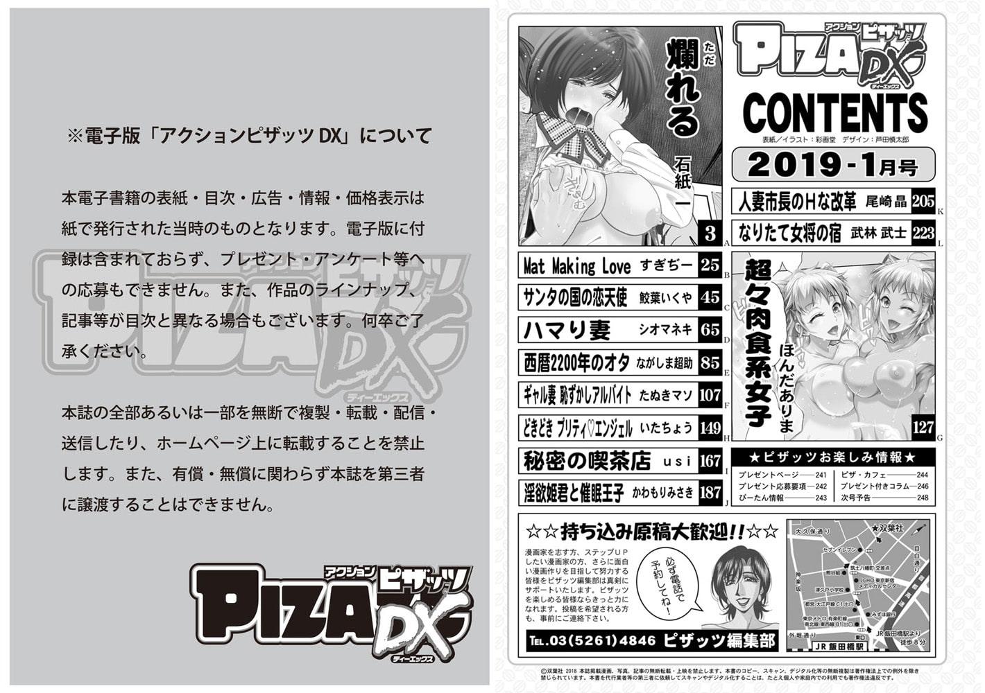 アクションピザッツDX2019年1月号[雑誌]