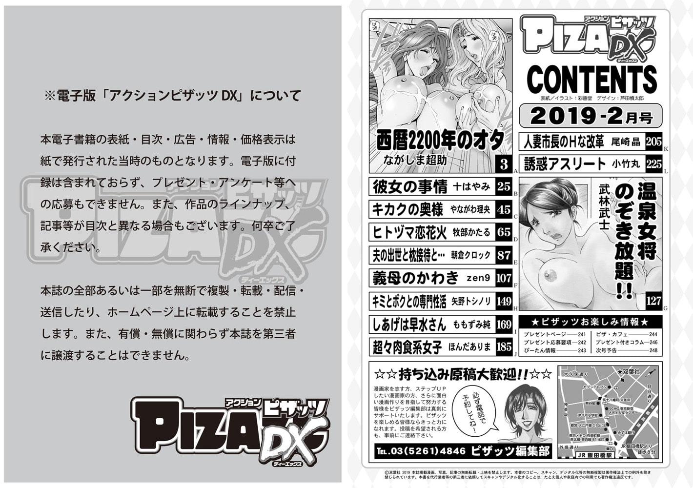 アクションピザッツDX2019年2月号[雑誌]