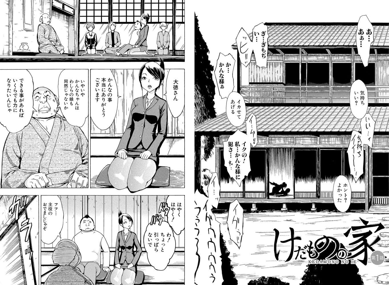 けだものの家(上)