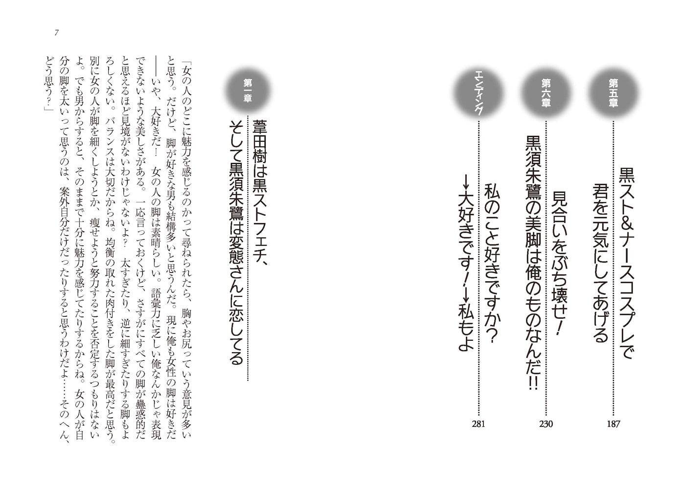 生徒会長・黒須朱鷺の黒ストッキングは好きですか?→大好きです!