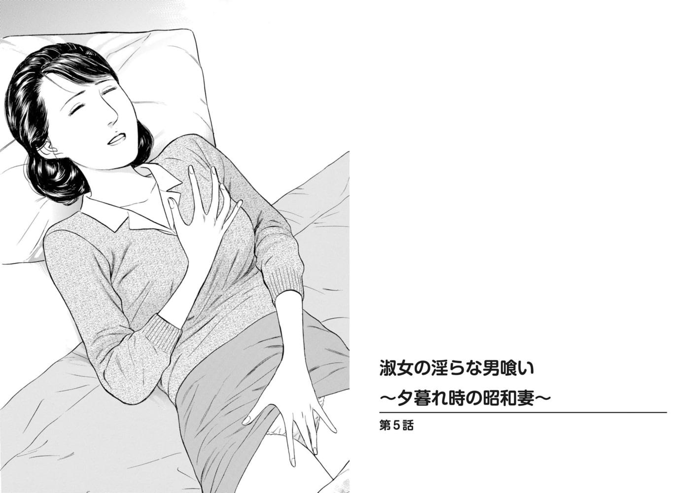 淑女の淫らな男喰い~夕暮れ時の昭和妻~ 3巻