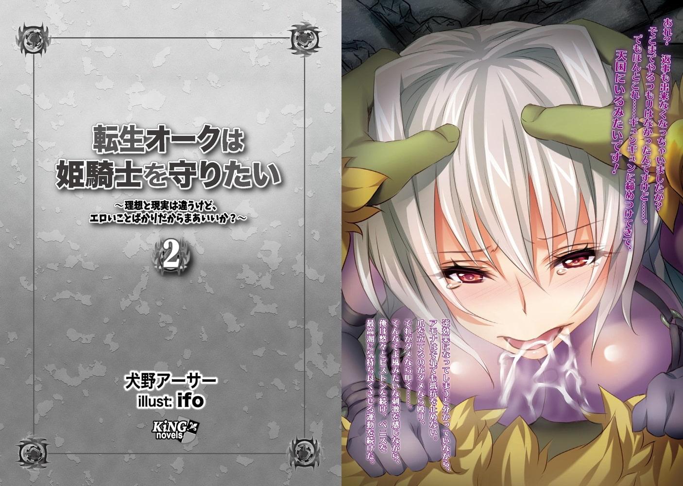 転生オークは姫騎士を守りたい 2 ~理想と現実は違うけど、エロいことばかりだからまあいいか?~