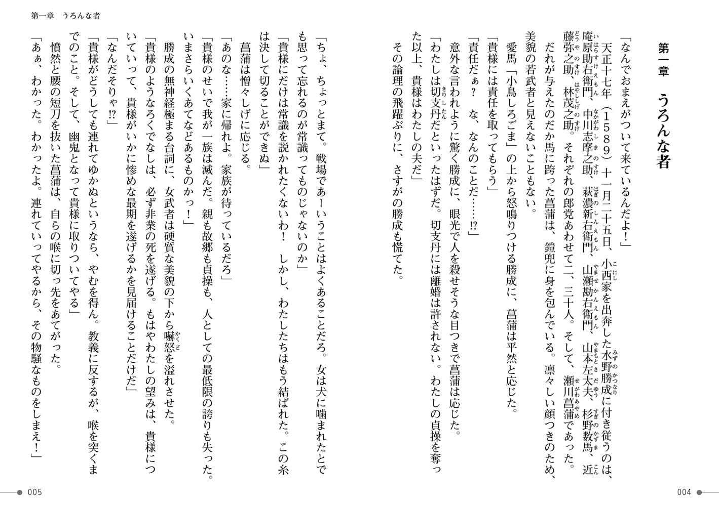 戦国艶武伝 第3巻~雷鳴の抄~