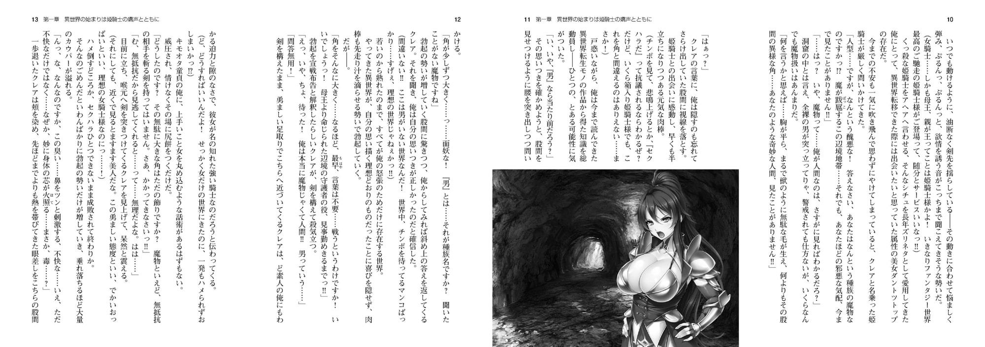 爆乳姫騎士は孕ませオナホ ~絶対忠誠の便女に尽くされるドスケベ異世界性活~