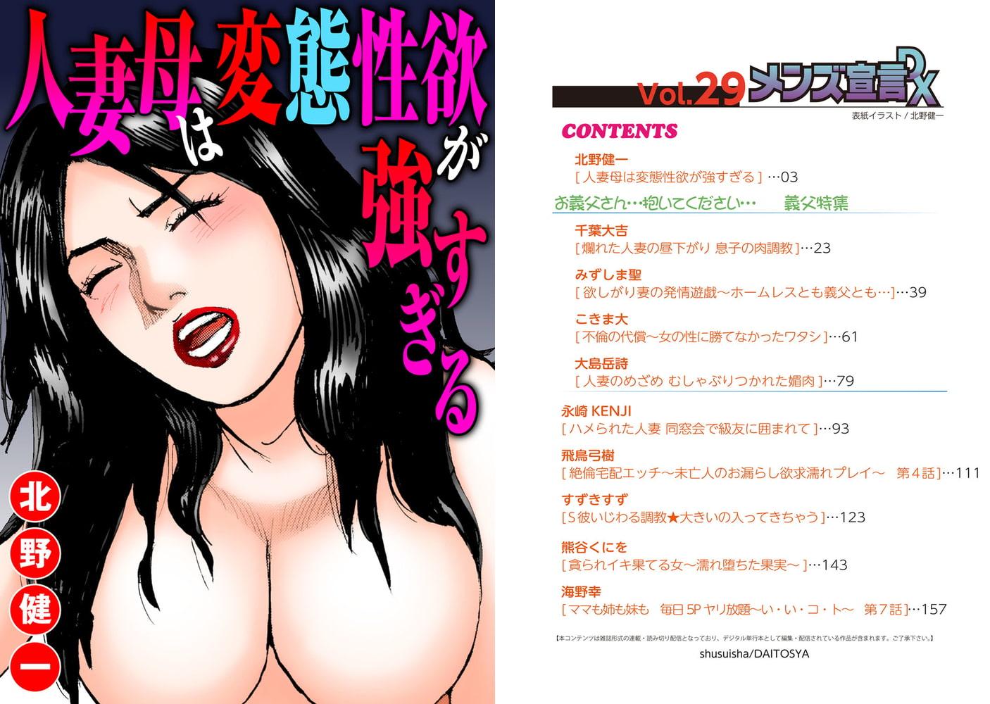 メンズ宣言DX Vol.29
