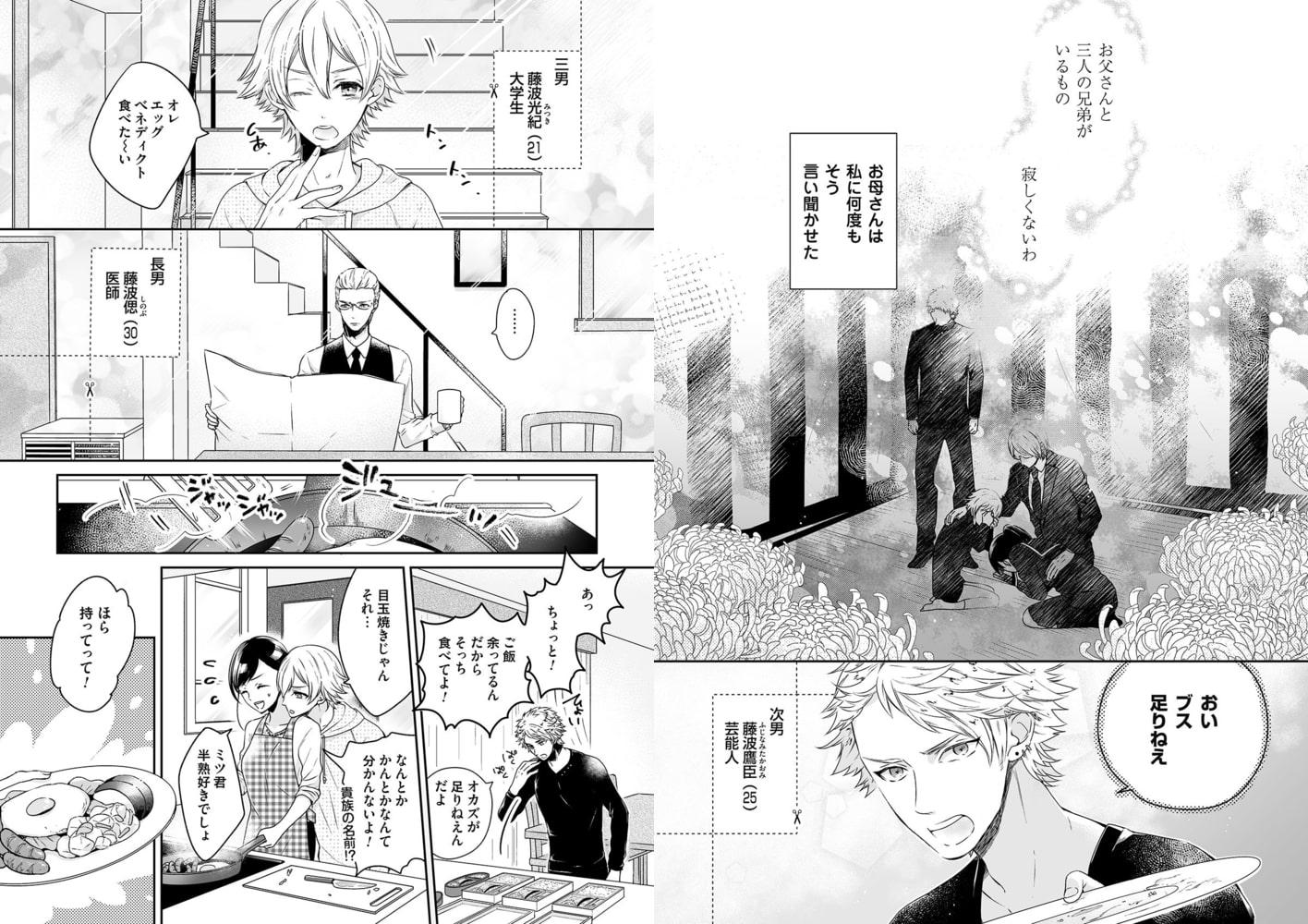 藤波さんちの恋愛事情~恋愛は外じゃなく、家庭内ではじまる!?(1)