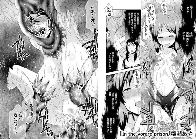 二次元コミックマガジン 丸呑みイキ地獄 モンスターに捕食されたヒロイン Vol.1~2パック達