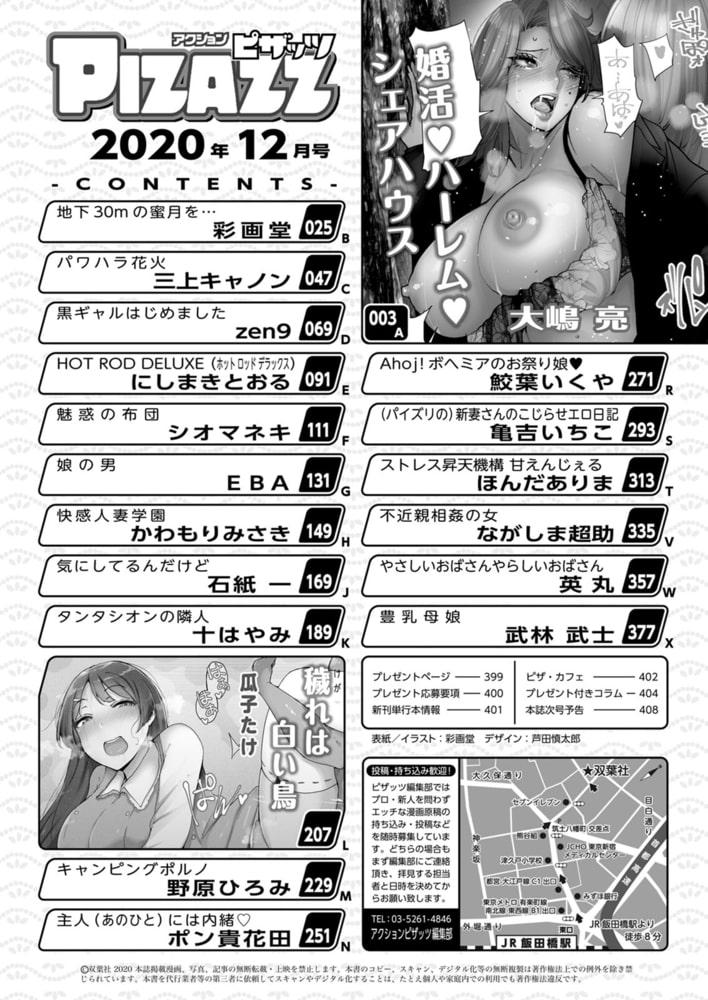 アクションピザッツ2020年12月号[雑誌]