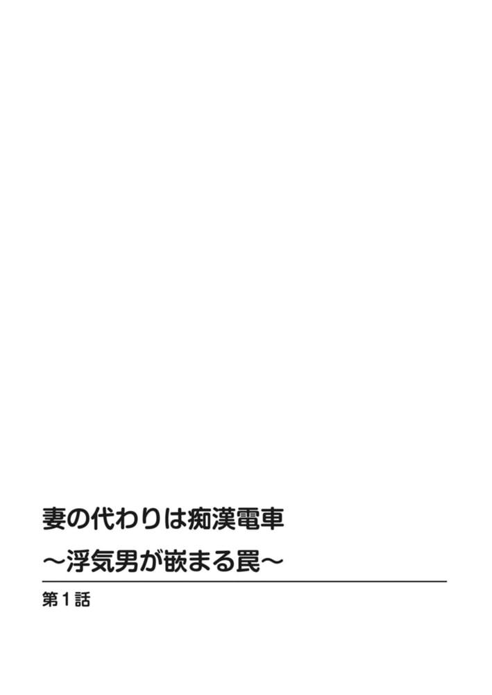 妻の代わりは痴漢電車~浮気男が嵌まる罠~【増量版】