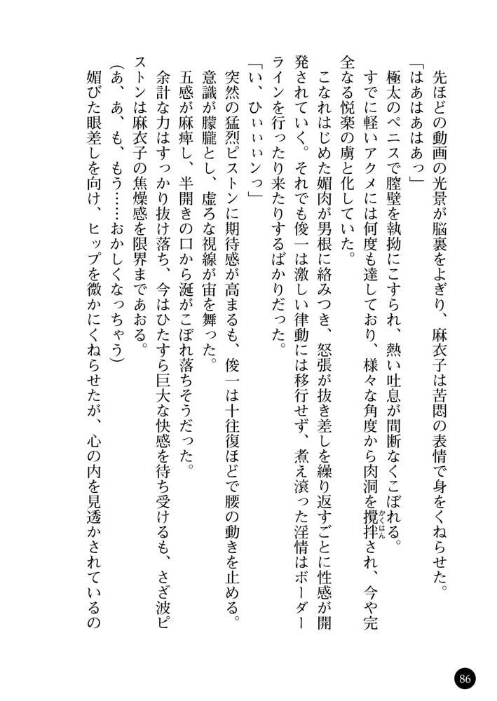 女子行員・麻衣子の調教日記