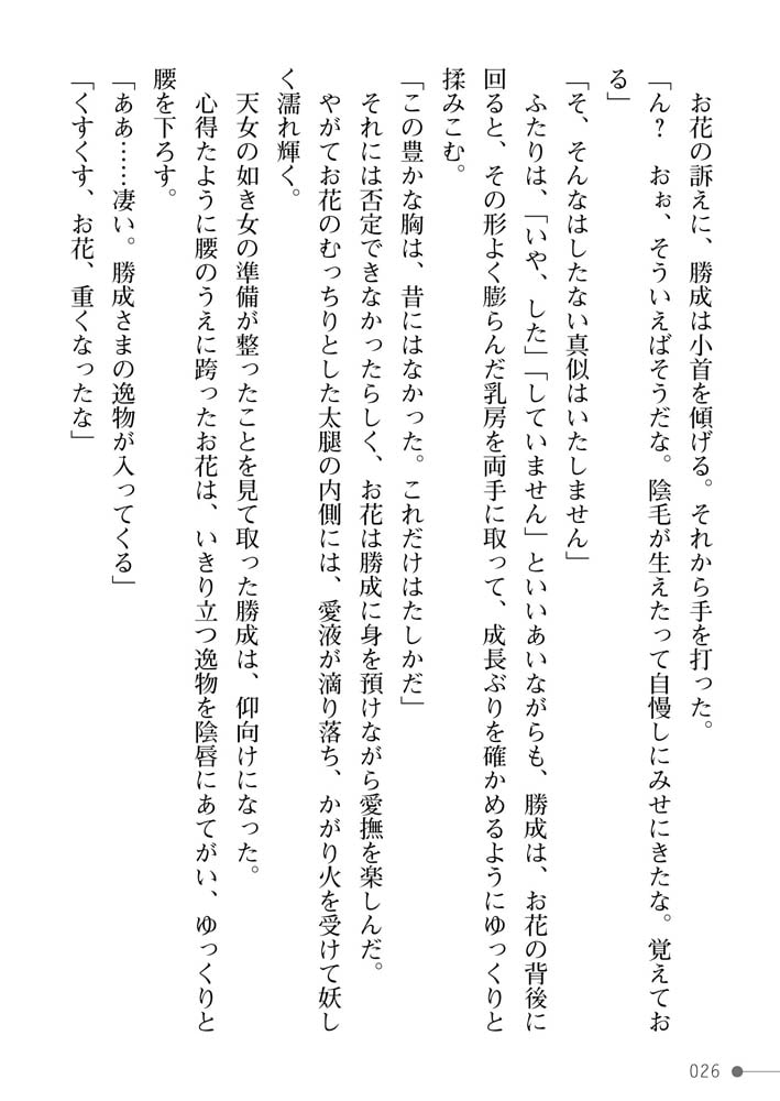 戦国艶武伝 第4巻~奔流の抄~のサンプル画像26