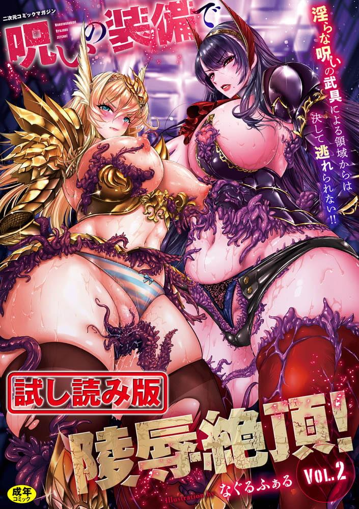 二次元コミックマガジン 呪いの装備で陵辱絶頂!Vol.2のサンプル画像1