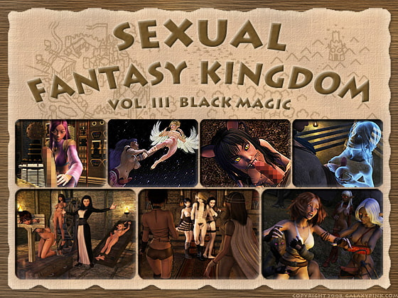 Sexual Fantasy Kingdom vol. 3: Black Magic (Language: English)!