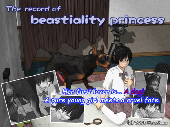 The record of beastiality princess (Language: English)!