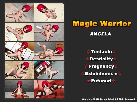 Magic Warrior (text: English)!