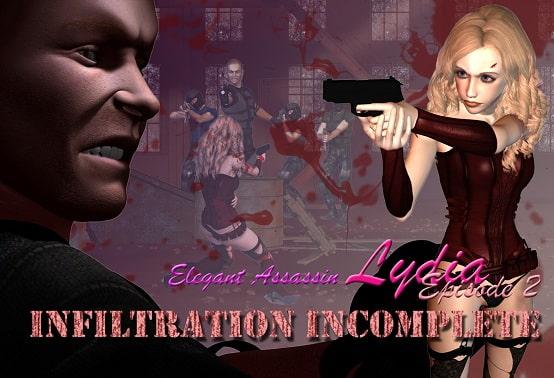 Elegant Assassin Lydia - Episode 2: Infiltration Incomplete!