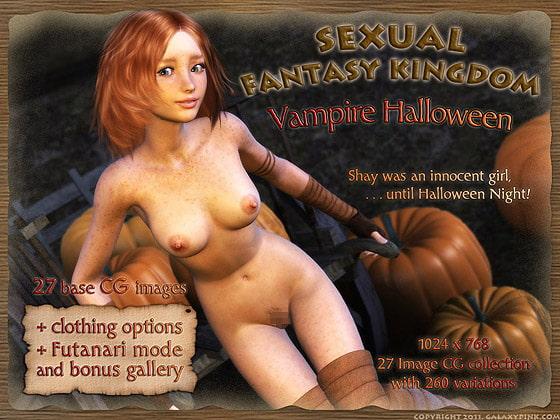 Sexual Fantasy Kingdom: Vampire Halloween!