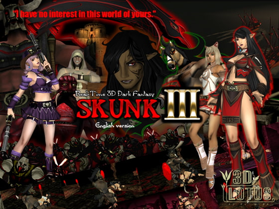Real-time 3D total violation fantasy SKUNK III Godkiller (English version)!