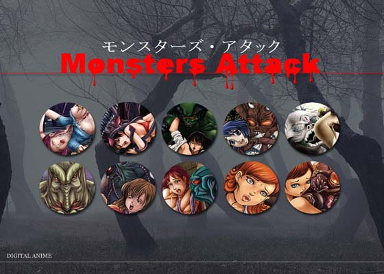 MONSTERS ATTACK [GRAVITY WORK X]