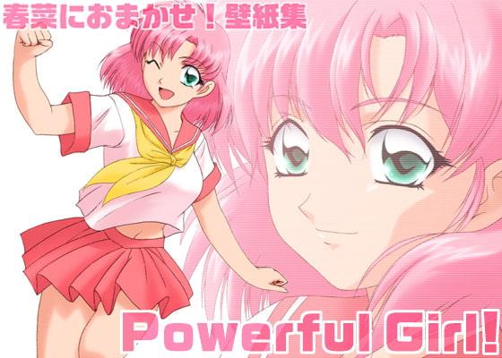 RJ013038 img main 春菜におまかせ!壁紙集 Powerful Girl!
