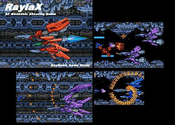 RaylaX (RAYHAWK) DLsite提供:同人ゲーム – シューティング