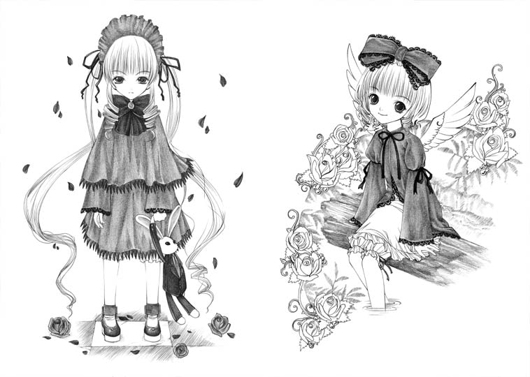 Roz*n Maiden - Illustration Collection vol.2 [Bone chinA]