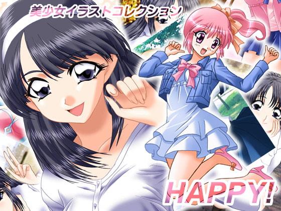 RJ030180 img main 美少女イラストコレクション HAPPY!