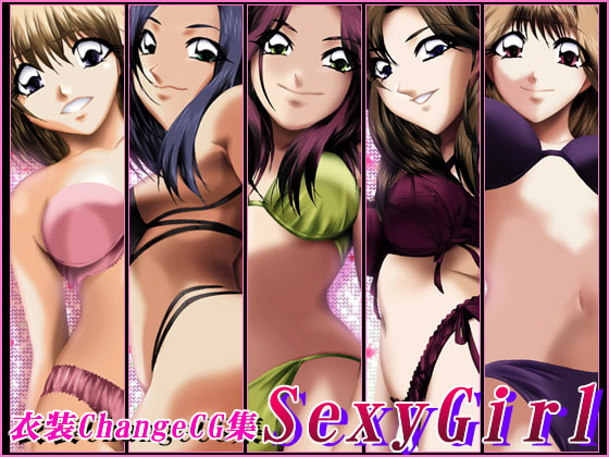 RJ034157 img main 衣装Change CG集 Sexy Girl