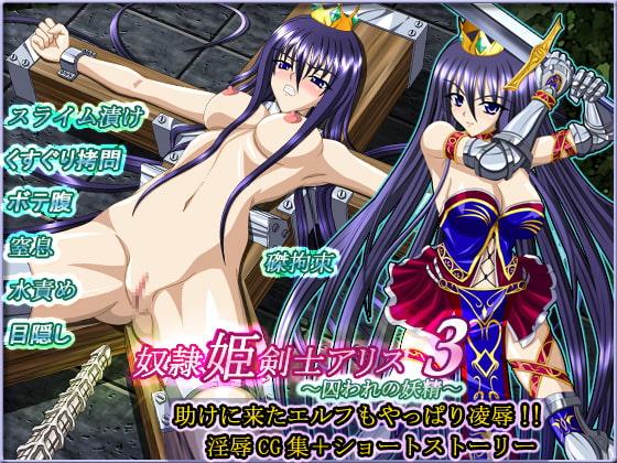 奴隷姫剣士アリス3〜囚われの妖精〜表紙