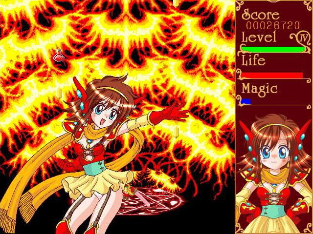 精霊天使えれめんつ おかわり (闇奉行カンパニー) DLsite提供:同人ゲーム – シューティング