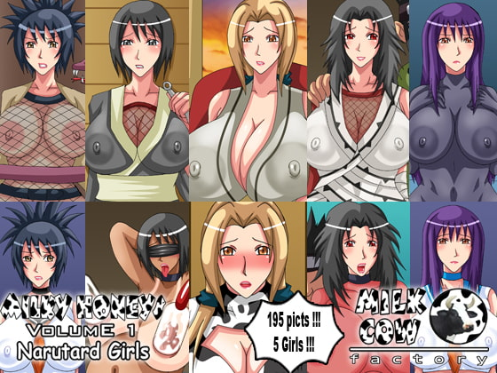 Milky Honeys Volume 1 - Narutard Girls!
