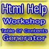 HHCGEN3: コンパイル済HTMLヘルプ 目次・キーワード ジェネレータ [TECHROID.COM]