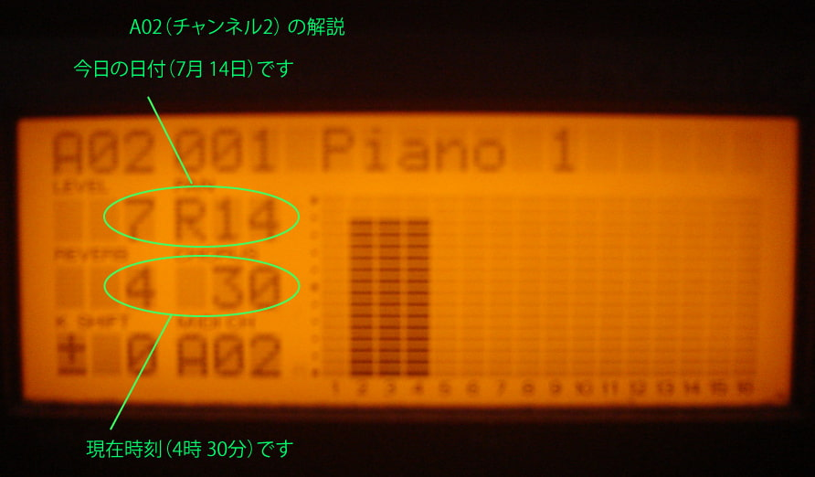 LCD Memory Usage Display - MIDI Player Style [EasySoftCreation]