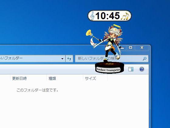 RJ083102 img main デスクトップキャラクロック No05
