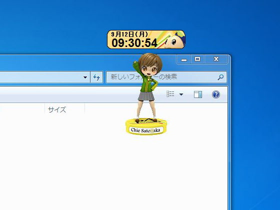 RJ083564 img main デスクトップキャラクロック No06