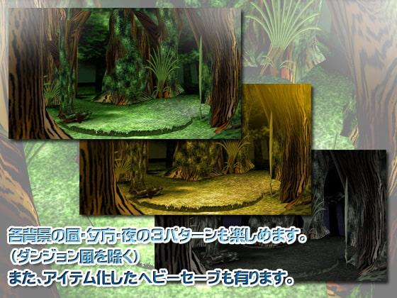 3Dカスタム-RPG風背景 (Angel Cure) DLsite提供:同人ゲーム – ツール・アクセサリ